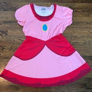 Princess Peach Super Mario Dress